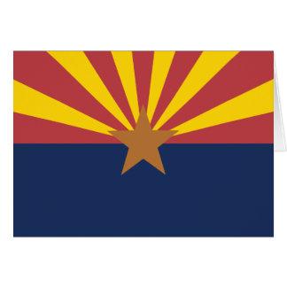 Arizona Flag Card