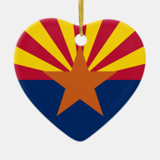 Arizona Flag Ceramic Ornament