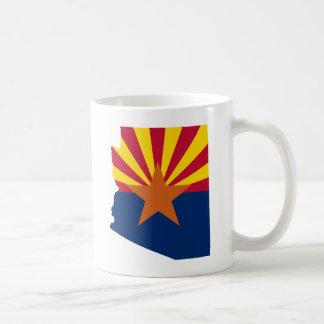 Arizona Flag Colors Coffee Mug