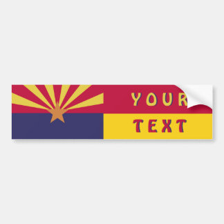 Arizona Flag: Create Your Own Bumper Sticker
