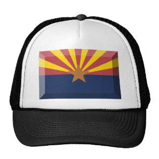 Arizona Flag Gem Trucker Hats