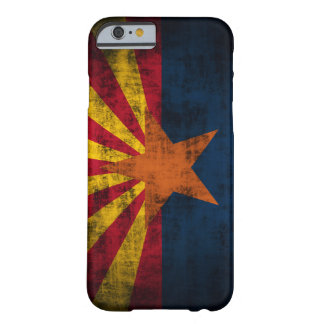 Arizona Flag Grunge iPhone 6 case Barely There Cas