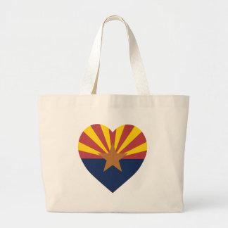 Arizona Flag Heart Bag