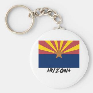 Arizona Flag Keychain