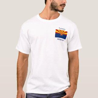 Arizona Flag Map City T-Shirt