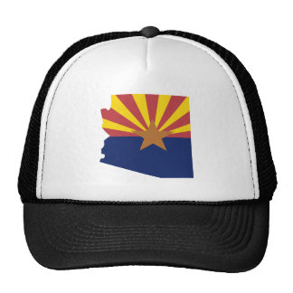 Arizona Flag Map Hat