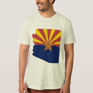 Arizona Flag Map T-Shirt