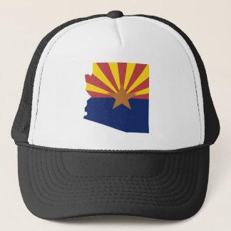 Arizona Flag Map Trucker Hat