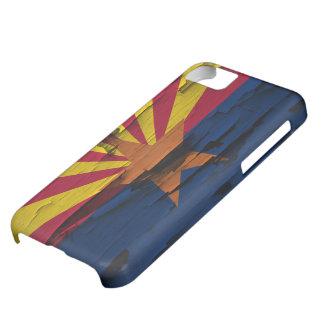 Arizona Flag Paint Peel iPhone 5 iPhone 5C Case