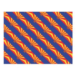 ARIZONA Flag Pattern Post Cards