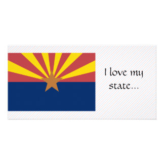 Arizona Flag Photo Card