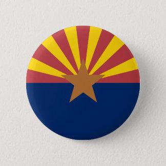 Arizona Flag Pinback Button
