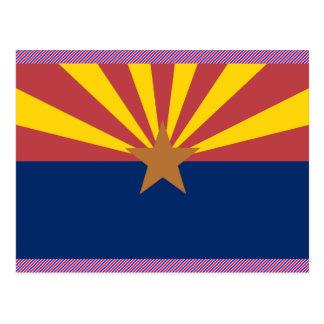 Arizona Flag Postcard