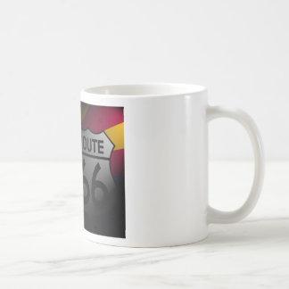 Arizona Flag Route 66 Coffee Mug
