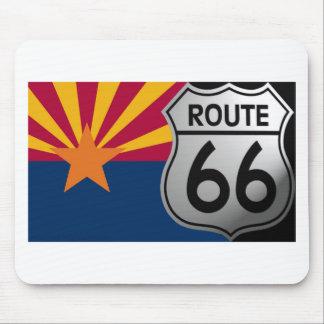 Arizona Flag Route 66 Mouse Pad