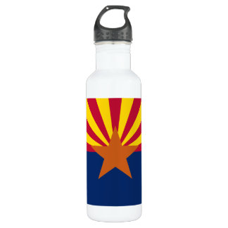 Arizona Flag Stainless Steel Water Bottle
