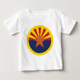 Arizona Flag Theme 00 Baby T-Shirt