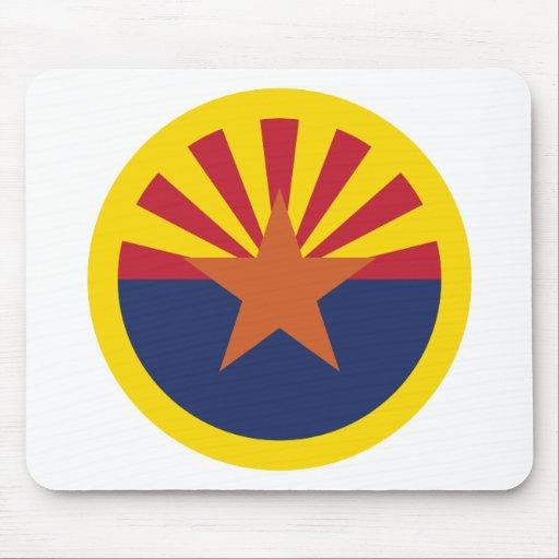 Arizona Flag Theme 00 Mousepad