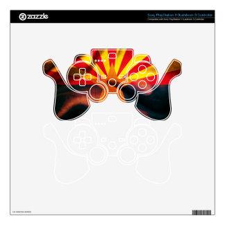 Arizona Flag Waving Silk Decal For PS3 Controller