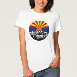 Arizona Flag with Phoenix Skyline Shirt