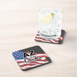 Arizona for Obama Election Beverage Coasters