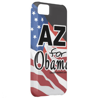 Arizona for Obama Election Cover For iPhone 5C