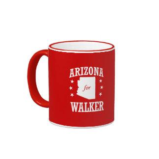 ARIZONA FOR WALKER RINGER COFFEE MUG