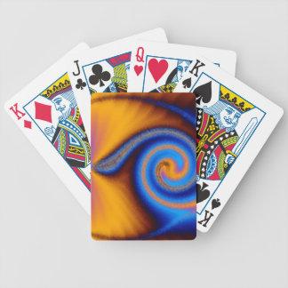 Arizona Fractal Bicycle Playing Cards