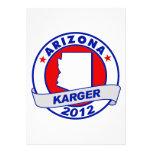 Arizona Fred Karger Custom Announcements