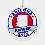 Arizona Fred Karger Ornaments