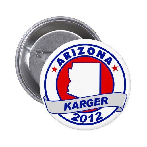 Arizona Fred Karger Pin
