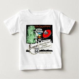 Arizona Fun-Time 1950s style Alien UFO Route 66 Baby T-Shirt