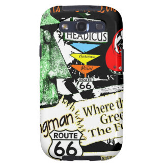 Arizona Fun-Time 1950s style Alien UFO Route 66 Samsung Galaxy SIII Cases