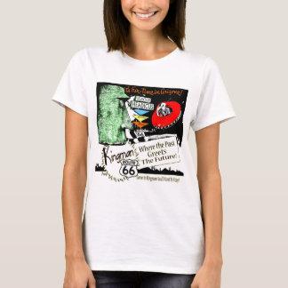 Arizona Fun-Time 1950s style Alien UFO Route 66 T-Shirt