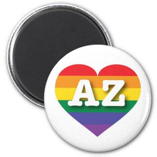 Arizona Gay Pride Rainbow Heart - Big Love Magnet