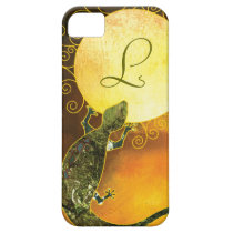 Arizona Gecko Monogrammed iPhone 5/5S Barely There iPhone SE/5/5s Case