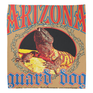 Arizona Gila Monster Bandana
