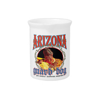 Arizona Gila Monster Beverage Pitcher