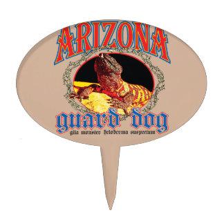 Arizona Gila Monster Cake Topper