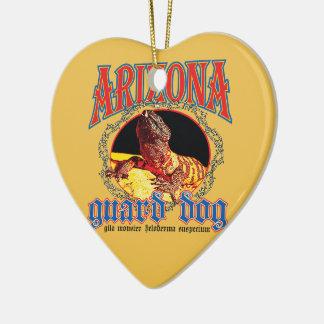 Arizona Gila Monster Ceramic Ornament