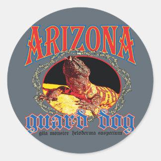 Arizona Gila Monster Classic Round Sticker