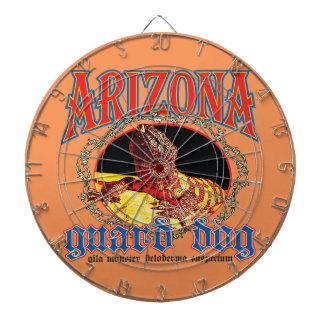 Arizona Gila Monster Dartboard With Darts