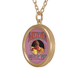 Arizona Gila Monster Gold Plated Necklace