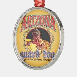 Arizona Gila Monster Metal Ornament