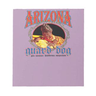 Arizona Gila Monster Notepad