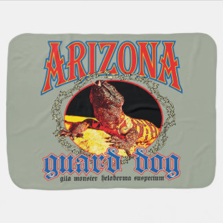 Arizona Gila Monster Receiving Blanket