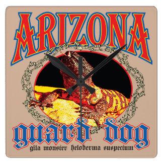Arizona Gila Monster Square Wall Clock
