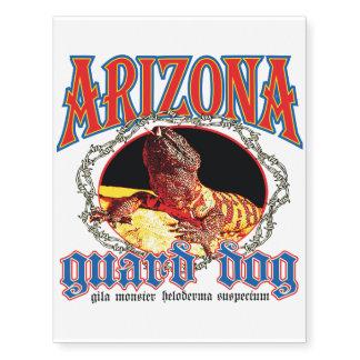 Arizona Gila Monster Temporary Tattoos