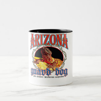 Arizona Gila Monster Two-Tone Coffee Mug