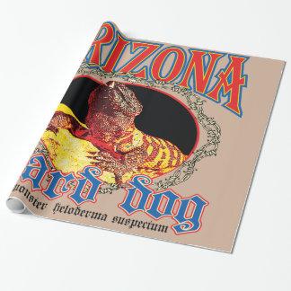 Arizona Gila Monster Wrapping Paper